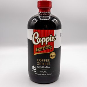 Cappio Cold Brew Coffee in a 16 fl oz bottle