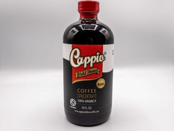 Cappio Cold Brew Coffee in a 16 fl oz bottle