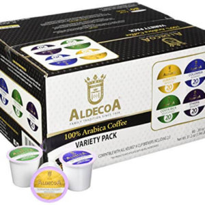 Aldecoa 100% arabica coffee variety pack k cups