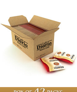 box of 42 packs cafe diario