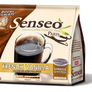 eximius coffee stand up bag of french vanilla pods
