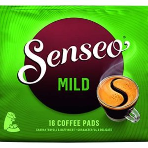 pack of senseo mild coffee pads