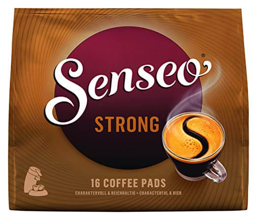 pack of senseo strong coffee pads