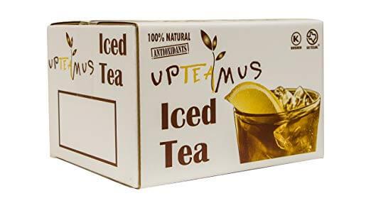 upteamus iced tea 100% natural antioxidants