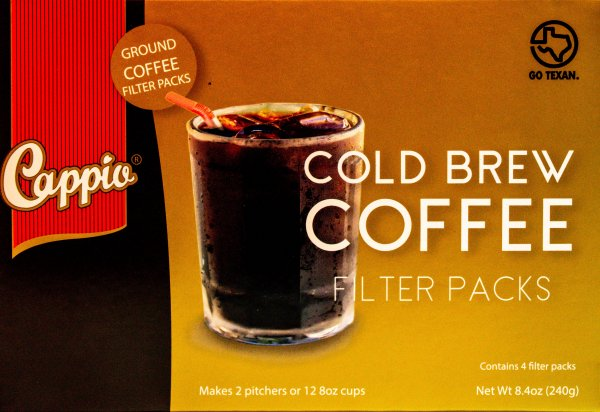 label for eximius coffee cold brew ground coffee filter