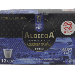 Aldecoa Colombian coffee