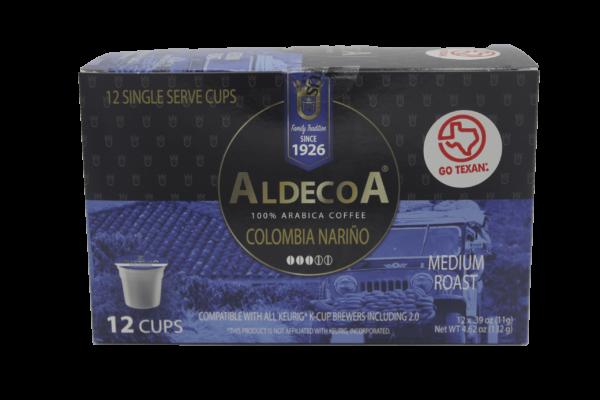 Aldecoa Colombian coffee